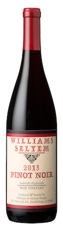 2013 Williams Selyem Weir Vineyard Pinot Noir