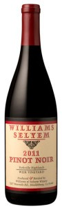 2011 Williams Selyem Weir Vineyard Pinot Noir, Yorkville Highlands