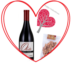 OLETTE VALENTINES DAY PINOT AND TOFFEE GIFT PACK Image