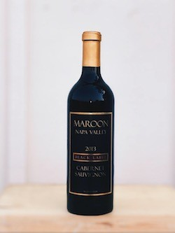 MAROON NAPA VALLEY BLACK LABEL CABERNET SAUVIGNON