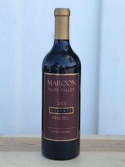 2013 MAROON VINEYARDS HOWELL MOUNTAIN MALBEC