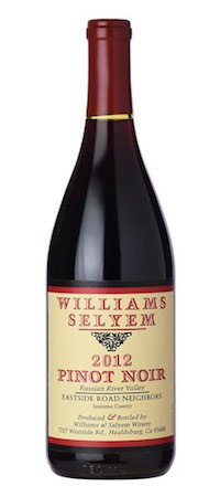 2012 Williams Selyem Eastside Road Pinot Noir