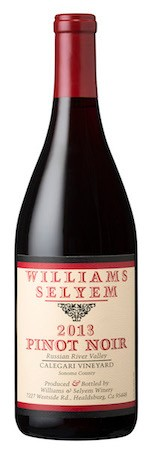 2013 Williams Selyem Calegari Vineyard Pinot Noir