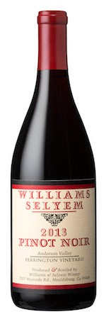 2013 Williams Selyem Ferrington Vineyard Pinot Noir