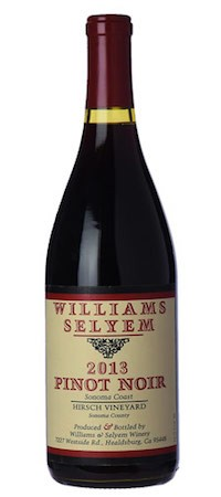 2013 Williams Selyem Hirsch Vineyard Pinot Noir