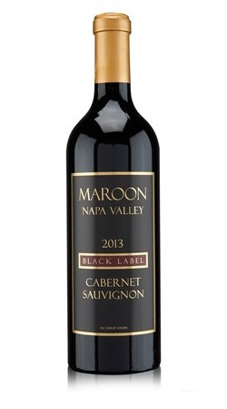 2015 MAROON NAPA VALLEY BLACK LABEL CABERNET SAUVIGNON