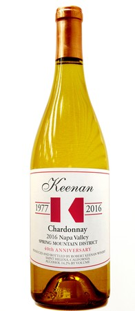 2016 Keenan Spring Mountain Chardonnay Napa Valley