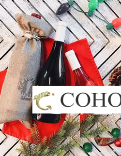 COHO Headwaters 2015 Napa Blend & Olet'te Reserve Chardonnay 2017