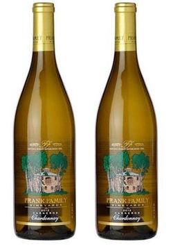 Frank Family 2 Bottle Chardonnay Pack Napa Valley