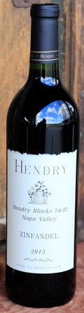 Hendry 2015 Blocks 7 & 22 Zinfandel